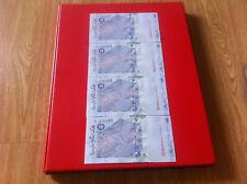 RM1 Zeti sign 11th series - 4 pcs Replacement Note ZL 1796657 - 60 (UNC) #7