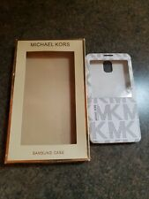 New AUTHENTIC Michael Kors Phone Case for Samsung Galaxy Note 3 Retail Value $58