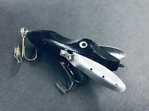 Vintage Handmade Fishing Lure!! Articulated Fins! One Of A Kind Artwork! Beauty!