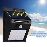 20 LED Solar power Motion Sensor Light Path Wall Outdoor Garden Lamp Waterproof