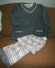 Ladies Liz Claiborne Pajama Set XXL Fleece Pockets Fast Shipping Woman's