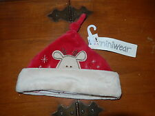 Miniwear 3-9mo baby Christmas Hat - Reindeer design
