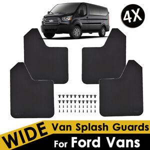 Mud Flaps For Ford Vans Splash Guards Mudguards Mudflaps Fender Flexible