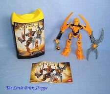 Rare Lego Bionicle 8989 Glatorian MATA NUI - Boxed & complete with instructions