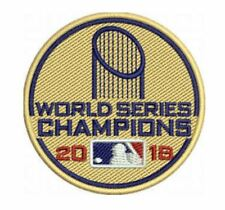 "2018 WORLD SERIES CHAMPIONS CAP PATCH 2"" BOSTON RED SOX CHAMPS MLB BASEBALL"