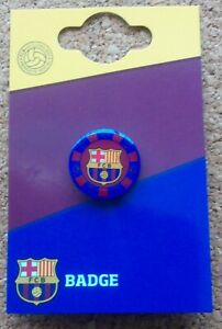 FC Barcelona Poker Chip Football Badge (Official Merchandise) - FREE POSTAGE!