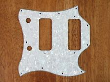 PICKGUARD WHITE PEARLOID FULL FACE SIZE FOR GIBSON SG CLASSIC AND STANDARD P90