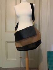 Marni Black And Tan Leather Handbag