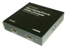 Mini DisplayPort to HDMI (2x HDMI Output) Converter with Audio MMP-MDP2H01 36676