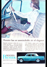 """1964 EH HOLDEN PREMIER AD A1 CANVAS PRINT POSTER 33.1""""x23.4"""""""