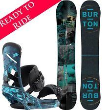 2018 Burton Descendant + Mission EST Snowboard Package 155cm, UK 6-9 Bindings