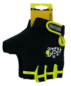 Tour De France Gloves - Half Finger Gel Padding