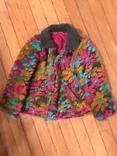 hanna andersson 100 girls Or 4 4t Jacket Coat Euc