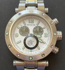 Invicta Reserve Collection 5198 Men's Watch Chronograph Quartz White Silver