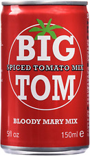 Big Tom Spiced Tomato Juice Bloody Mary Mix can 150mlx24 Cans Suitable vegans