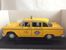 FAIRFIELD MINT 1981 New York Checker Cab Taxi #2510