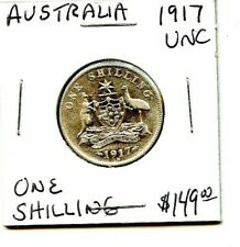 1917- Australia - One Shilling - Very Nice Coin !
