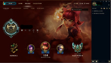 League of Legends Acc EUNE Currently Platinum 4 duo to inactivity
