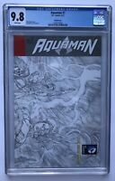 Aquaman #7 CGC 9.8 Sketch Variant 1st appearance/The Others New 52 Geoff Johns
