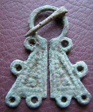 Authentic Ancient Lake Ladoga VIKING Artifact   Fibula Brooch  K7