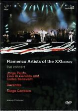 Flamenco Artists of the XXI Century Live Concert   BRAND NEW  SEALED  DVD