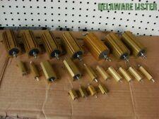 Huge Wholesale lot of Vishay Dale & other Co. Electronics Power Resistors