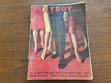 PLAYBOY OCTOBER 1961 VOL 8 NO 10 JEAN CANNON W/CENTERFOLD (83)