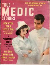 True Medic Stories Aug 1957 Oh, God, Which Life Shall I Save?