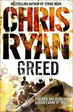 Greed :, Chris Ryan   Paperback Book   9780099432227   NEW