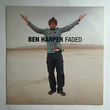 BEN HARPER - FADED 4 TRACK EP * 12 INCH VINYL MINT * FREE P&P UK * ORIGINAL *