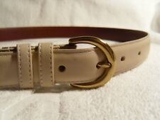 Coach Tan leather belt 30 (mens) USA