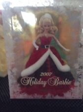 2007 Holiday Barbie Rare NIB