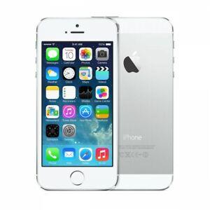 NEW SILVER UNLOCKED 16GB APPLE IPHONE 5S T-MOBILE STRAIGHT TALK  JU07