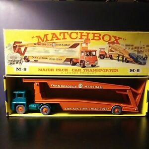 Matchbox M-8. Major Pack Car Transporter In Original Box VNM