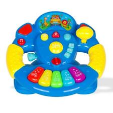 New! Childrens Play Steering Wheel w/ Buttons Modes Lights & Sounds by Dimp