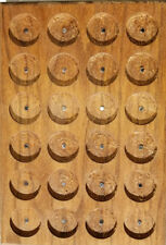 PATHTAG GEOCOIN DISPLAY - BUTTERNUT - HOLDS 24 TAGS - NEW - MADE IN USA
