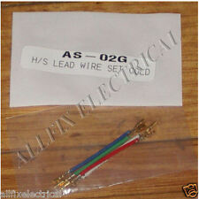 Audio Turntable Headshell Cartridge Wires (Set of 4) - Part # AS-02G - Free Post