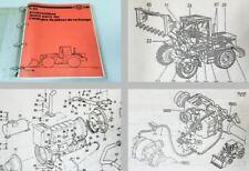 Ersatzteilkatalog O&K L25 Radlader Ersatzteilliste Spare Parts List Schaltplan