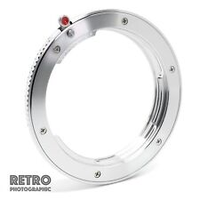LR-EF Leica R LR Fit Lens to Canon EF EOS Mount Adapter Ring - UK Stock