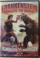 Frankenstein Conquers the World (DVD, 2007) 2 DVD