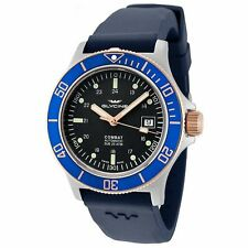 Glycine 3908.383.B6.D8D Men's Combat Sub Automatic Blue Automatic Watch
