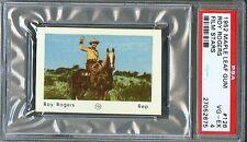 1952 Maple Leaf Gum Film Stars #126 ROY ROGERS Cowboy Actor Horse Trigger PSA 4