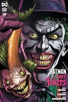 Batman Three Jokers #1 (2020 DC) Fish Variant Fabok # Dark Death Metal Superman