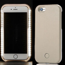 For iPhone 6 6S Plus 7 Plus LED Light Up Selfie Luminous Phone shell Cover Case