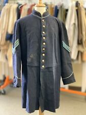 "Civil War Navy Blue Sergeant's Frock Coat, Sz 48"" chest, Battlefield Veteran"