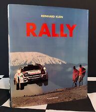 RALLY REINHARD KLEIN HAND SIGNED OUT OF PRINT BOOK - WRC GROUP A B ESCORT RS 911