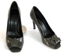 PAULE KA Zapatos tacones 9 cm todo charol gris 38 / EXCELENTE ESTADO