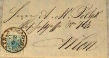 Marken - Korrespondenz - Brief / Faltbrief 1853 / 9 Kreuzer