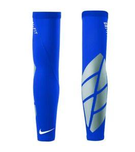 Nike Pro Adult Unisex Vapor Forearm Slider 2.0 Royal Blue/Silver Small/Medium