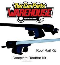 Full Roof Rack Bar Kit SUM520 Mountney WITH RAILS PEUGEOT 206 SW / Estate 02-10